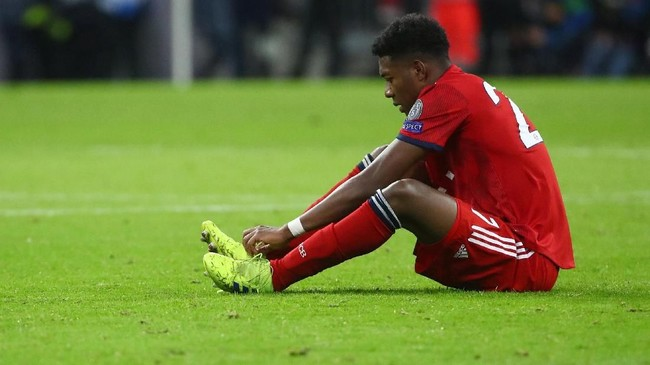Barcelona diyakini AS selangkah lagi akan berhasil mendapatkan David Alaba dari Bayern Munchen. Kedatangan Lucas Hernandez membuat peluang Alaba hengkang semakin besar. (REUTERS/Michael Dalder)
