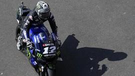 Kena Penalti, Vinales Start Keenam di MotoGP Catalunya