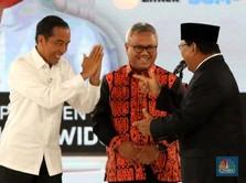 Debat Panas Jokowi-Prabowo Soal Divestasi Freeport