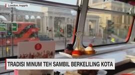 VIDEO: Tradisi Minum Teh Sambil Berkeliling Kota