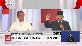 VIDEO: Prabowo Anggap Isu Pertahanan Bukan Masalah Ekonomi