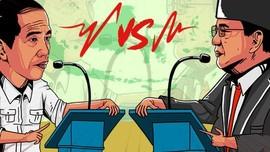 Jokowi Vs Prabowo Debat Soal Hankam Sampai Ideologi RI