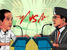 Real Count KPU: Jokowi Makin Jauh Tinggalkan Prabowo