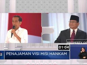 Prabowo; Pertahanan RI Lemah, Jokowi; Prabowo Tak Percaya TNI