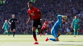 Rashford Bawa Man United Unggul 1-0 atas Watford di Babak I