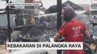 VIDEO: Kebakaran Hebat, 96 Unit Rumah Warga Ludes Dilalap Api