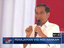 Debat dengan Prabowo, Jokowi Bawa-bawa 'Dilan'