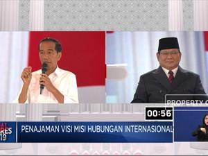 Jokowi Pamer FTA, Prabowo Kuatir Pertahanan Lemah