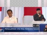 Jokowi Bicara Kecepatan, Prabowo Lebih Pilih Tujuan