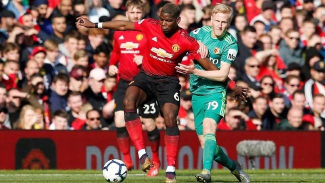 Man United membutuhkan poin penuh ketika menghadapi Watford demi posisi empat besar di klasemen yang akan menggaransi mereka menuju Liga Champions musim depan. (REUTERS/Andrew Yates)