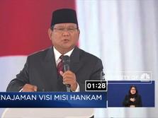 Prabowo: Pertahanan Kita Lemah Karena Kita Tidak Punya Uang