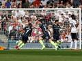 Silva-Aguero Cetak Gol, Man City Unggul 2-0 di Babak Pertama