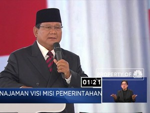 Prabowo Yakin Rasio Pajak Bisa 16%