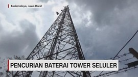 VIDEO: Pencurian Baterai Tower di Tasikmalaya