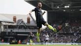 Silva sudah mencetak enam gol untuk Man City di Liga Inggris. Selain itu dalam tiga laga terakhir di berbagai kompetisi, Silva selalu mencetak gol. (REUTERS/David Klein)