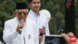 Ma'ruf Anggap Hoaks Pemicu Jokowi-JK Kalah di Jabar