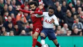Kalahkan Tottenham 2-1, Liverpool Kembali Geser Man City