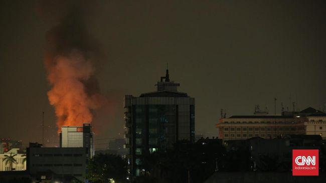 Api Padam, Tak Ada Laporan Korban Jiwa Kebakaran di Mampang