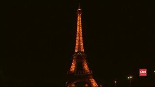 VIDEO: Menara Eiffel Gelap Gulita Peringati Earth Hour