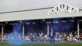 Fulham yang berada di zona degradasi menjamu Manchester City di Stadion Craven Cottage, London. (Action Images via Reuters/Paul Childs)