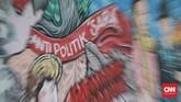 Lepas dari itu, pemerintah telah mengimbau agar masyarakat ikut berperan menyumbangkan suara agar turut serta menentukan nasib bangsa. CNN Indonesia/Andry Novelino