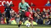 Kemenangan 2-1 atas Watford mengantarkan Man United ke peringkat keempat Liga Inggris 2018/2019 dengan 61 poin. Sementara Watford menempati peringkat kesepuluh dengan 43 poin. (REUTERS/Andrew Yates)