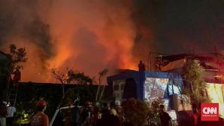 897 Warga Kehilangan Rumah Akibat Kebakaran Hebat di Agats