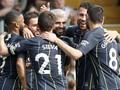 FOTO: Manchester City Perkasa atas Fulham, Lewati Liverpool