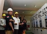 Menteri Jonan Resmikan Proyek Kelistrikan Vital Sumatera