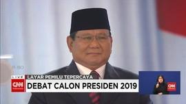VIDEO: Prabowo Singgung Taklimat Intel Jokowi Cuma 'ABS'