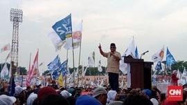 Prabowo Sebut Elite 'Mukpentip' Sebar Hoaks Khilafah