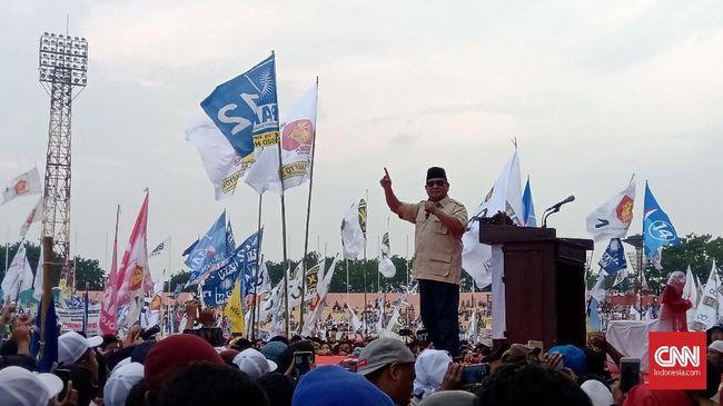 Prabowo Sindir Elite Jakarta yang Sering Kumpul Sore-sore
