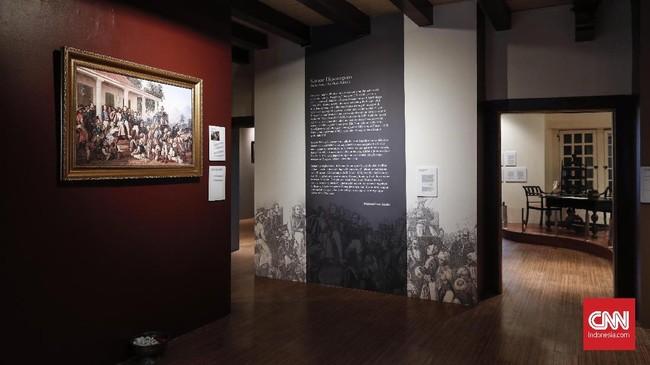 Saat ini ada empat kamar kamar Diponegoro di Nusantara, yaitu di Jakarta (Museum Sejarah), Magelang, Yogyakarta (Tegalrejo), Makasar (Benteng Rotterdam). (CNNIndonesia/Safir Makki)