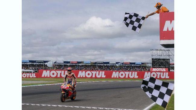 Menang Mudah, Marquez Tak Ngotot di MotoGP Argentina