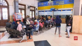 VIDEO: PT KAI Daop 8 Surabaya Gelar Tiket Mudik Gratis