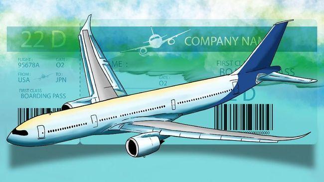 Diskon 50 Tiket Pesawat Mulai 11 Juli Ini Cara Dapatnya