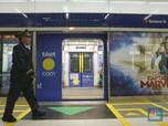 Penumpang MRT Anjlok 94% Efek PSBB Jabodetabek