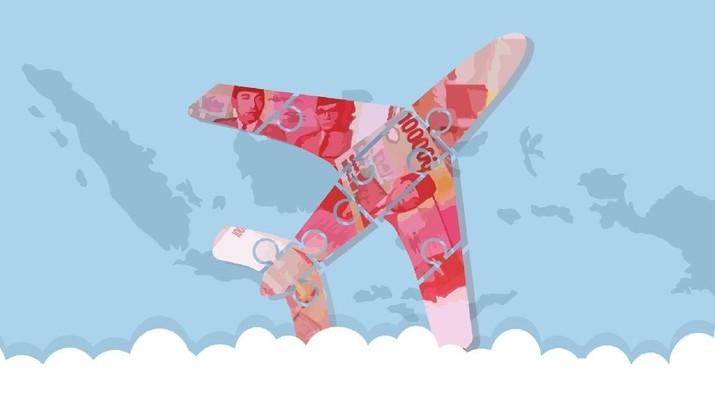 Pemerintah akhirnya memutuskan untuk menurunkan tarif batas atas pesawat untuk rute domestik