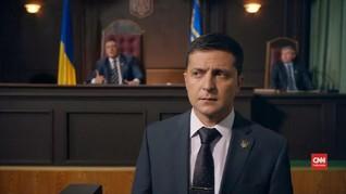 VIDEO: Komedian Ukraina Unggul dalam Pemilihan Presiden