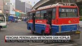 VIDEO: Rencana Peremajaan Metromini & Kopaja
