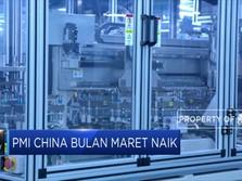 PMI China Bulan Maret Naik