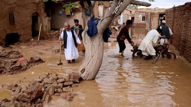 Banjir Afghanistan, 35 Orang Tewas dan 3.000 Rumah Hancur