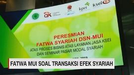 VIDEO: KSEI Terima Fatwa MUI Soal Transaksi Efek Syariah
