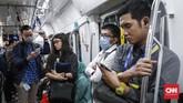 Nilai itu bersifat deposit yang akan dikembalikan jika penumpang mengembalikan kartu tersebut ke loket tiket di stasiun MRT Jakarta selama periode masa berlaku kartu (tujuh hari). (CNNIndonesia/Safir Makki).