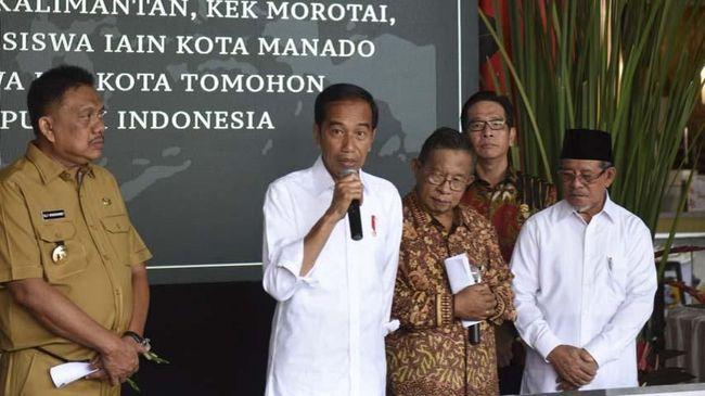 Incar Investasi Rp110 T, Jokowi Resmikan Tiga Kawasan Ekonomi