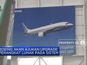 Boeing Ajukan Paket Perangkat Lunak Baru