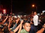 Lagi, Rombongan Jokowi Dicegat di Tengah Jalan