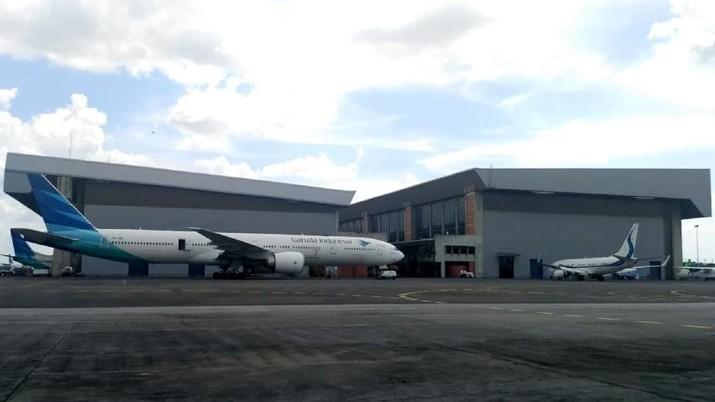 Garuda sedang mempertimbangkan ganti rugi akibat temuan keretakan pesawat Boeing 737 NG.