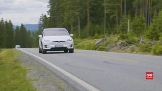 VIDEO: Norwegia 'Surga' Mobil Listrik