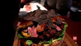 VIDEO: Burger Rp13 Juta Sambut Pergantian Kekaisaran Jepang